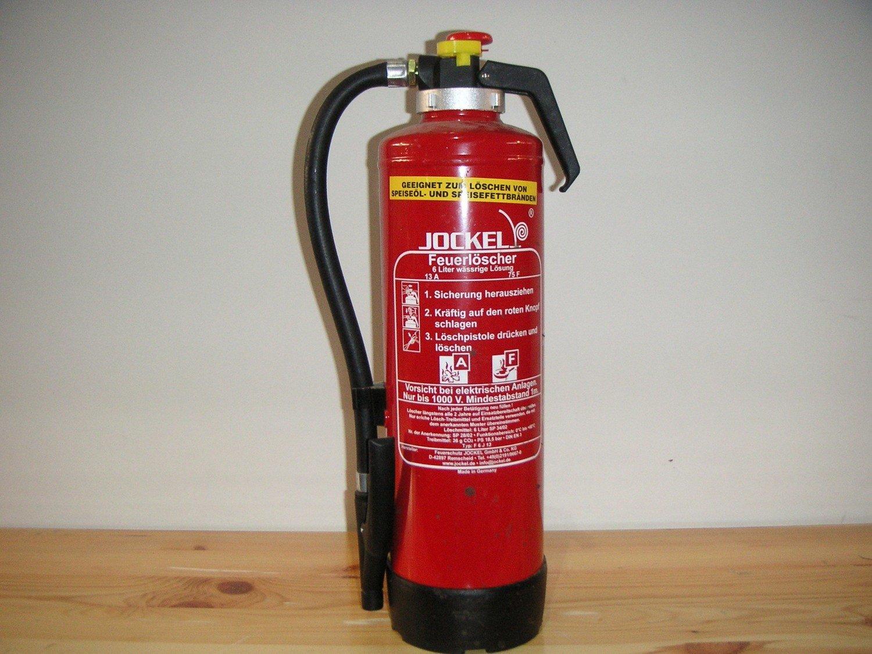 Feuerlöscher 6kg Fettbrand MIETE