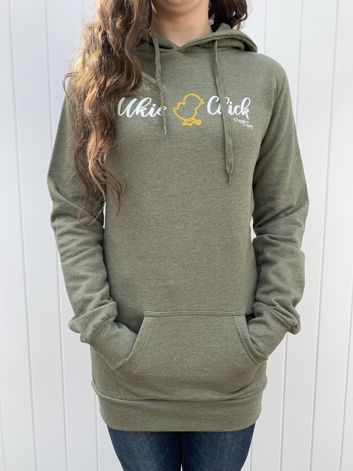 Ukie Chick Ladies Long Hoodie