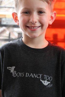 Boys Dance Too Youth Tee