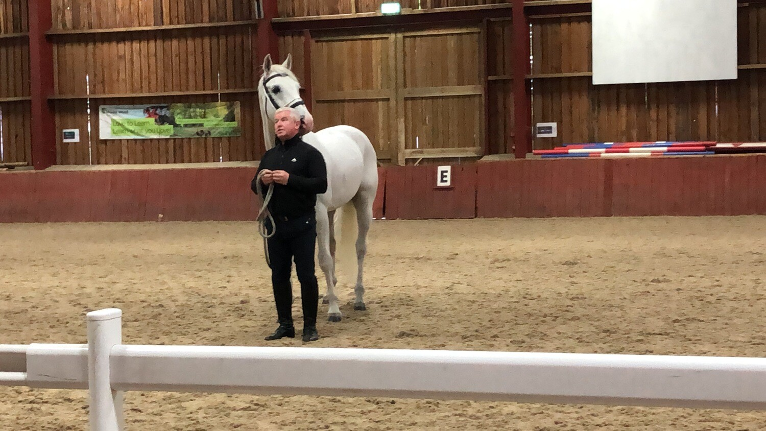 A Virtual Demo - A collection of 19 videos filmed working with clients and their horses. Online link will be emailed. (normal price £91, COVD-19 price £25