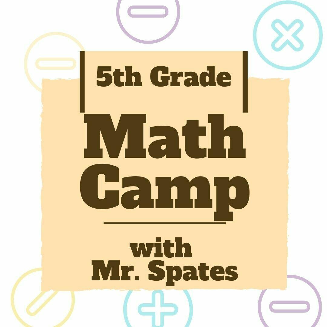 5th Grade Math Camp
