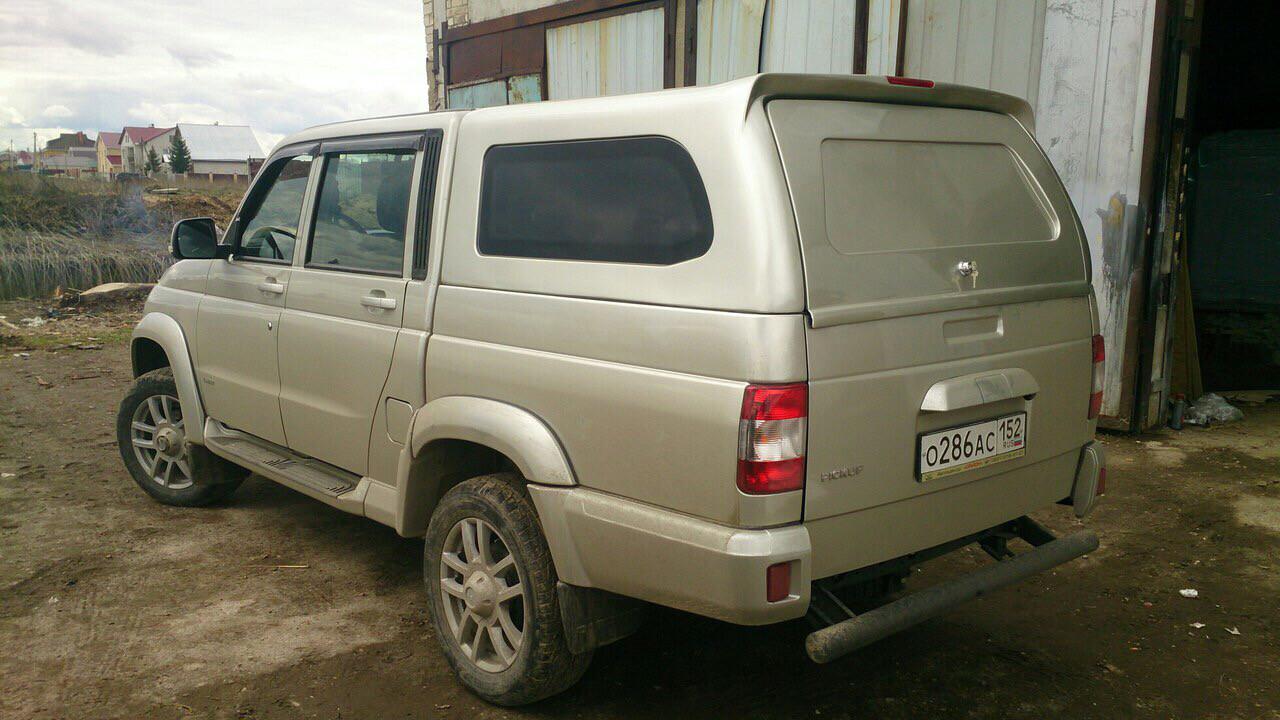 Кунг SKAT4 на УАЗ PickUp