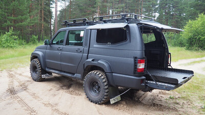 Выкатная грузовая платформа UAZ Patriot Pickup