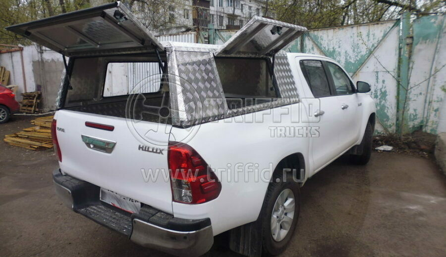Кунг из алюминия Toyota Hilux