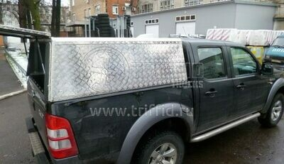 Кунг из алюминия Ford Ranger