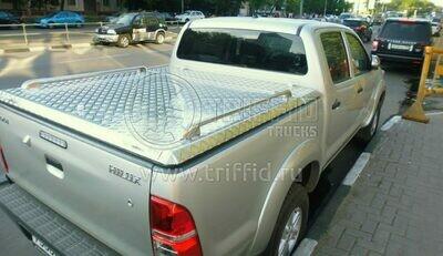 Силовая алюминиевая крышка Toyota Hilux