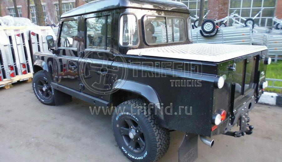 Силовая алюминиевая крышка Land Rover Defender