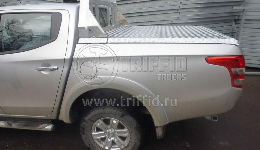 Силовая алюминиевая крышка Fiat Fullback