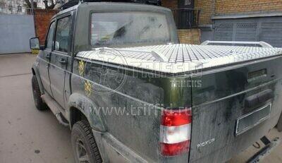 Силовая алюминиевая крышка УАЗ