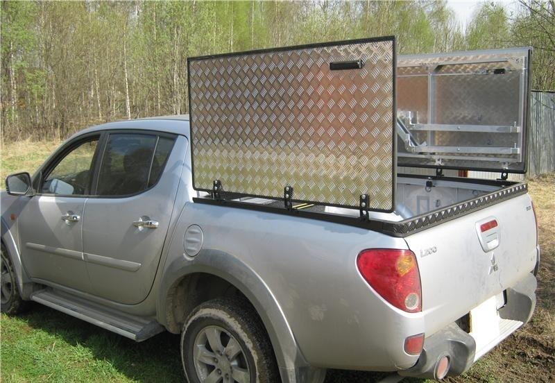 Крышка кузова алюминиевая распашная Mitsubishi L200