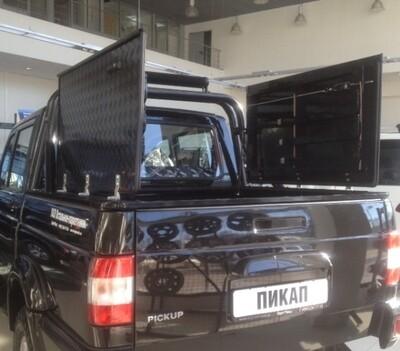Крышка кузова алюминиевая распашная УАЗ
