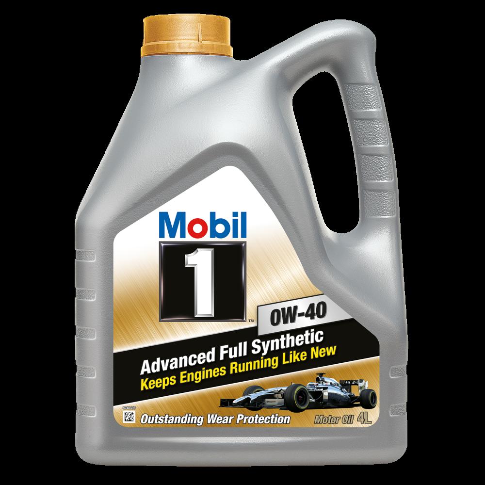 Моторное масло Mobil 1 0w40 4 литра