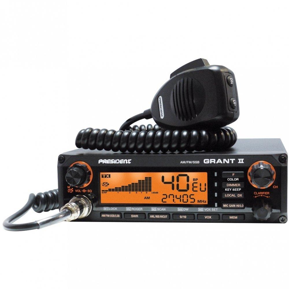 Радиостанция CB Grant II ASC