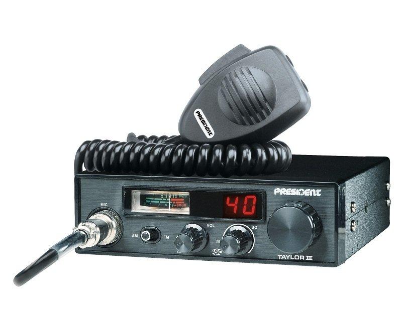 Радиостанция CB Taylor III ASC