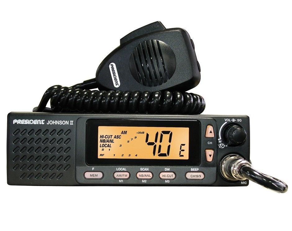 Радиостанция CB Johnson II ASC