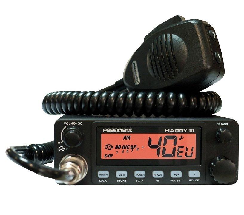 Радиостанция CB Harry III ASC