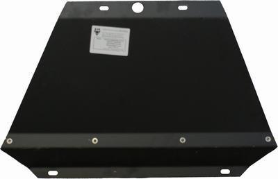 Защита радиатора для Nissan Navara D40 до 2009г