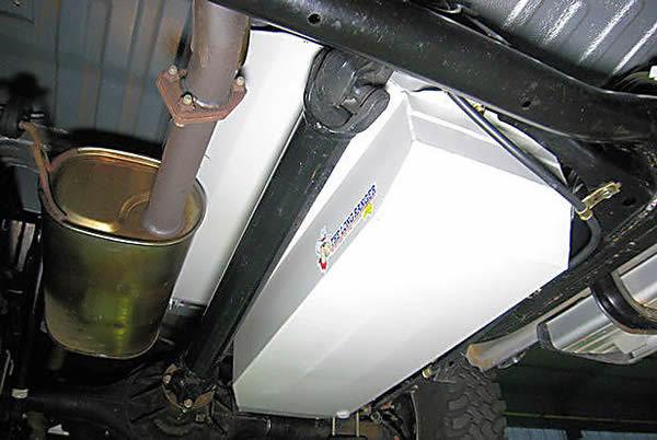 Топливный бак Long Ranger для Mitsubishi L200new 125л