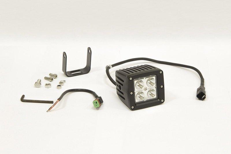 Фара дополнительная светодиодная прямоугольная направленного света 12 Вт, 8 градусов. (СТОКРАТ) 00491