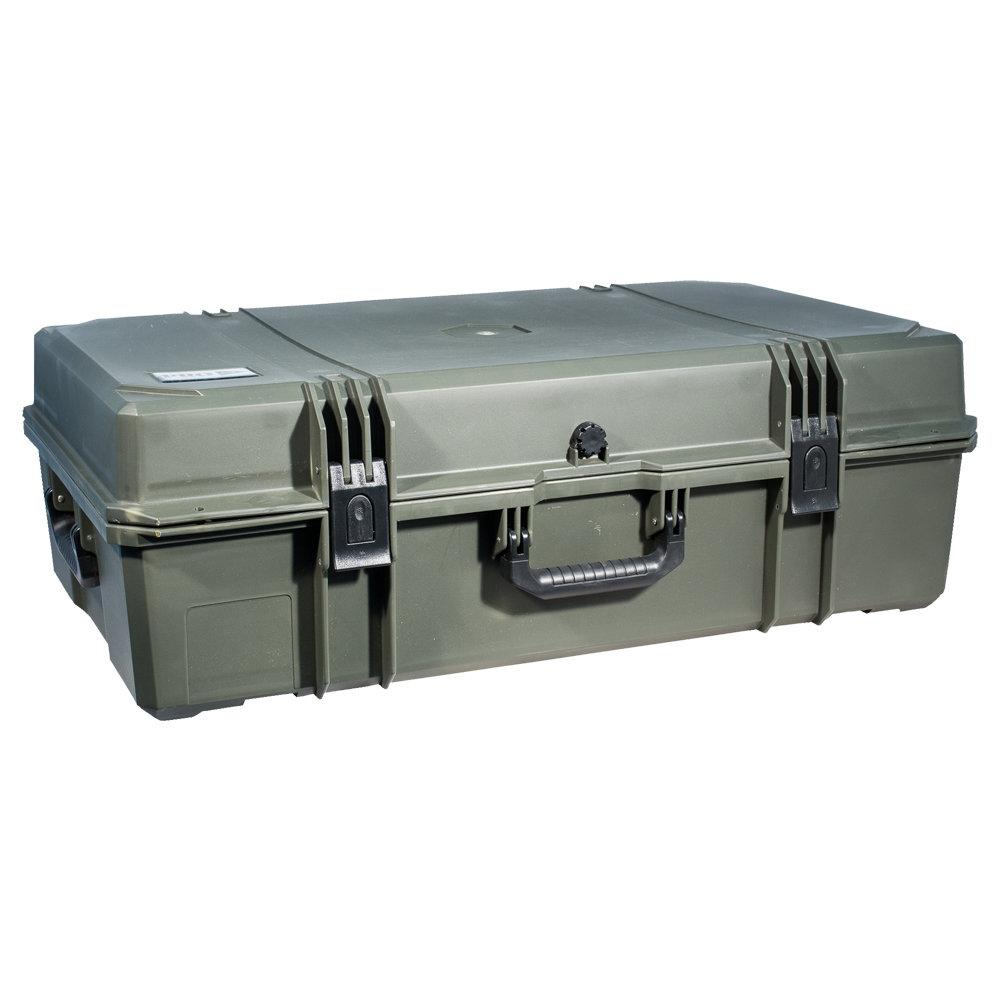 Кейс №9 противоударный PRO-4x4 ЗЕЛЕНЫЙ  (850x520x285мм)