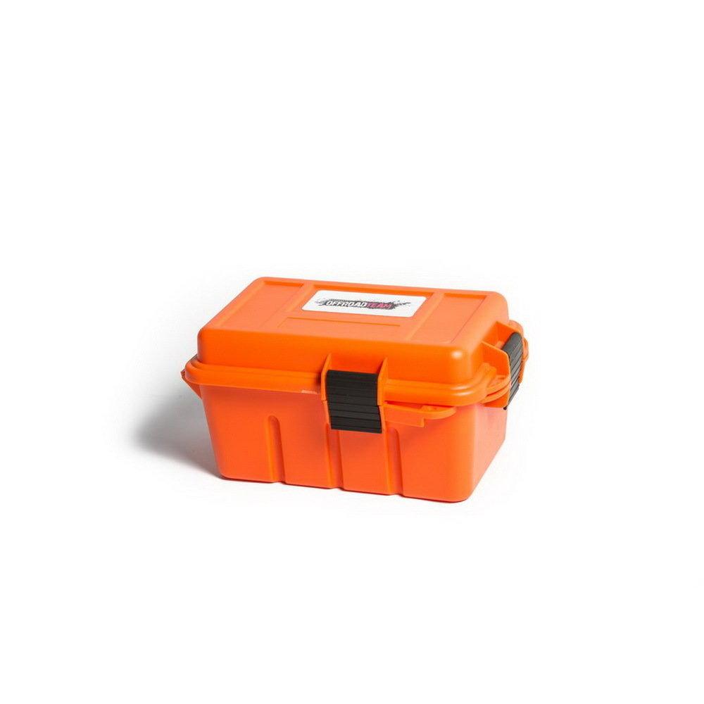 Герметичный ящик для мелочевки Offroadteam оранжевый, 220*135*120 мм