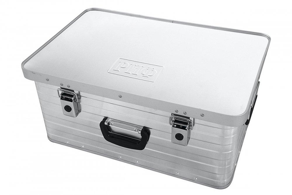 Ящик алюминиевый РИФ 585х385х262 мм (ДхШхВ) 00609