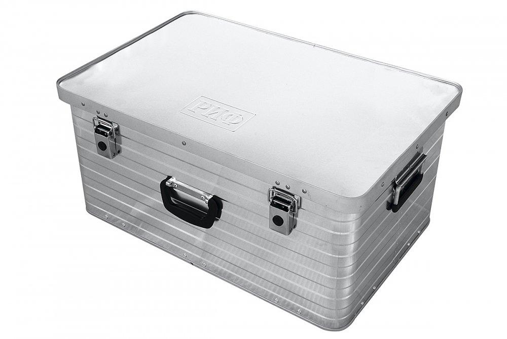 Ящик алюминиевый РИФ 690х455х320 мм (ДхШхВ) 00621