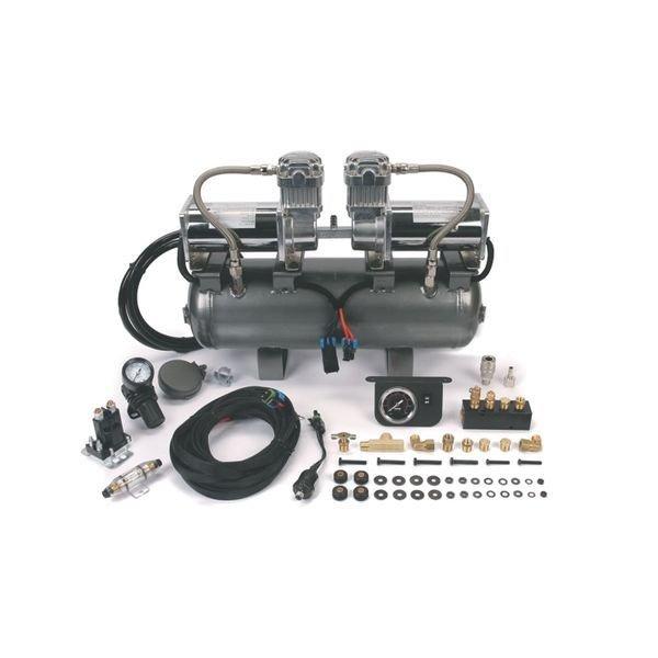 Ресивер 7,5 л в сборе с 2-мя компрессорами 400С 33%