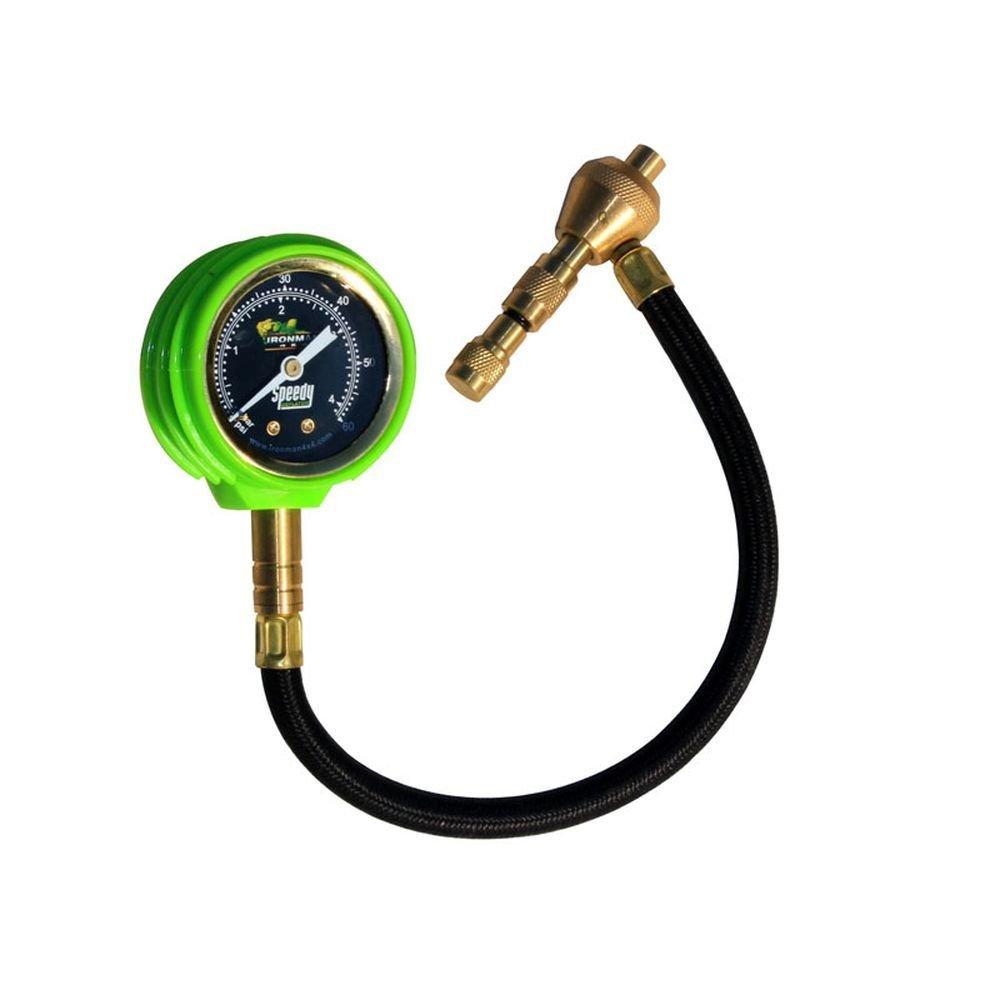 Дефлятор Ironman с манометром для стравливания давления в шинах