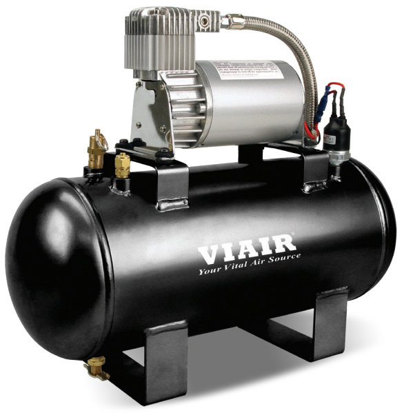 Пневмосистема в сборе VIAIR Fast-Fill 8,25 Атм 275C 5,7л 25%