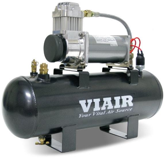 Пневмосистема в сборе VIAIR Fast-Fill 13,8 Атм 380C 7,6л 55%