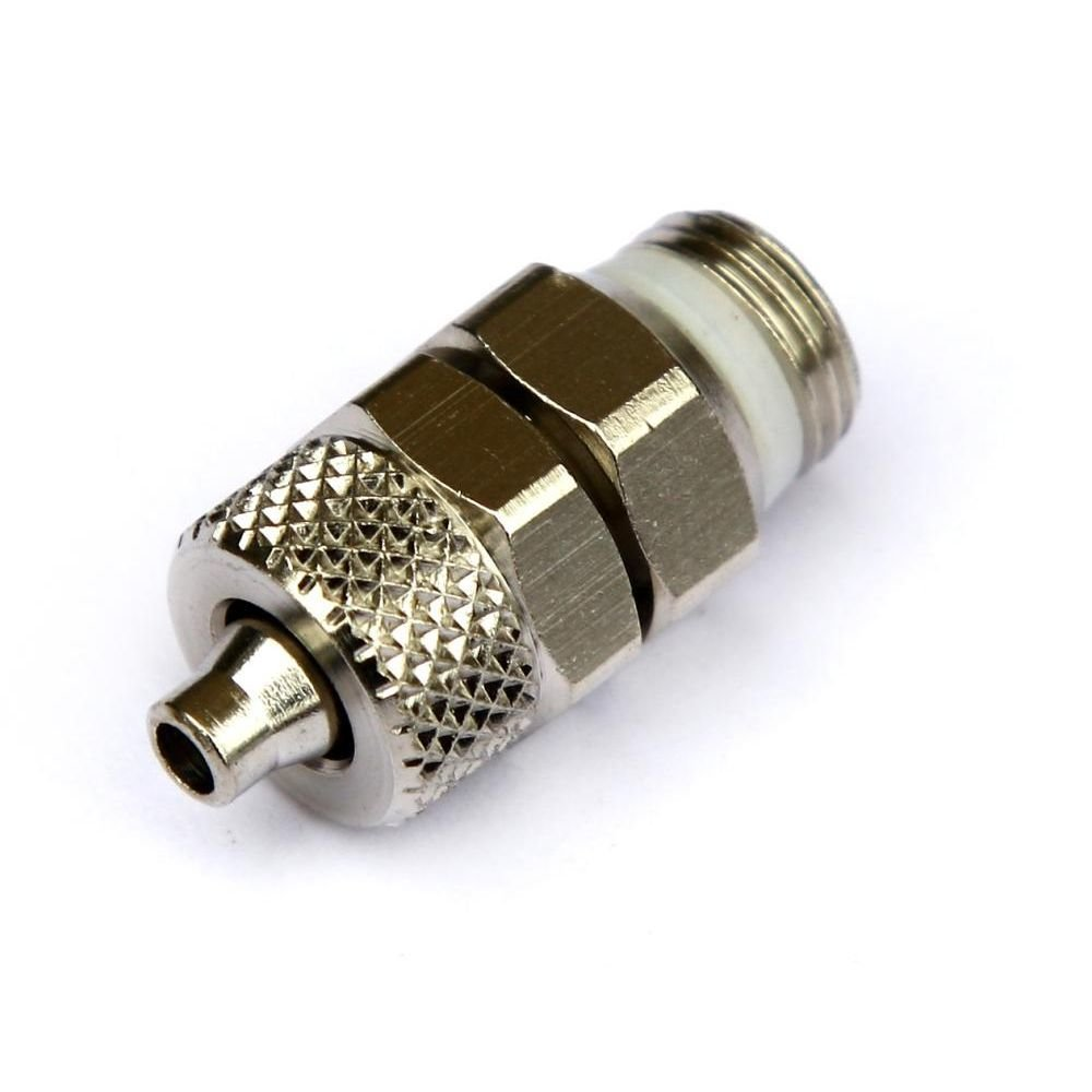 Соединение 6/4-1/8 Camozzi под гибкую трубку с упл.кольцом