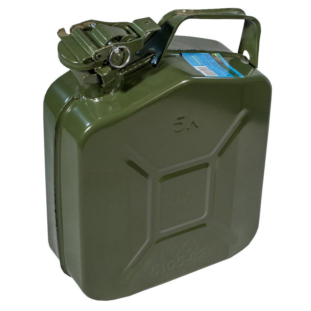 Канистра металлическая для ГСМ 5л 01427