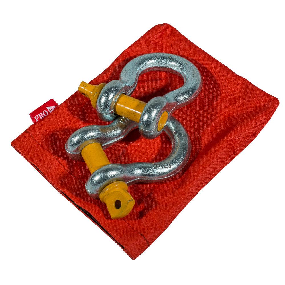 Комплект шаклов 3,25т в сумке PRO-4x4 (2шт)