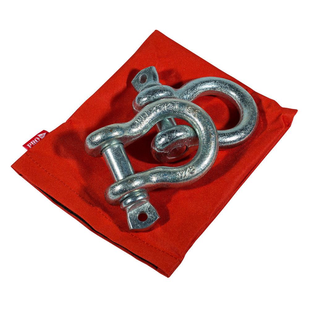 Комплект шаклов 4,75т в сумке PRO-4x4 (2шт)