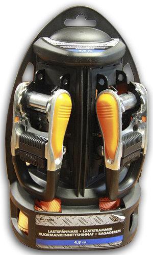 Ремни крепёжные (Biltema) комлект 2шт 4,8м 2000кг