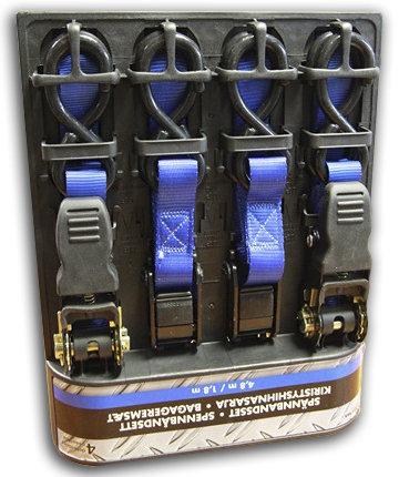 Ремни крепёжные (Biltema) комлект 2шт 1,8м 1100кг 2шт 4,8м 1400кг