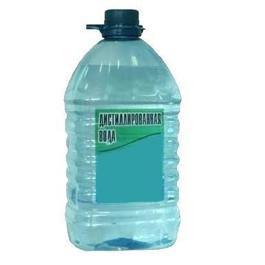 Вода дистиллированная 5л 01585