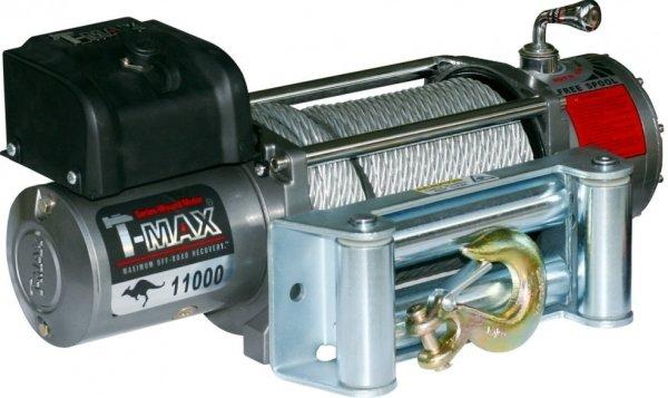 Лебедка автомобильная электрическая T-MAX EW-11000 OFF-ROAD Improved 12В