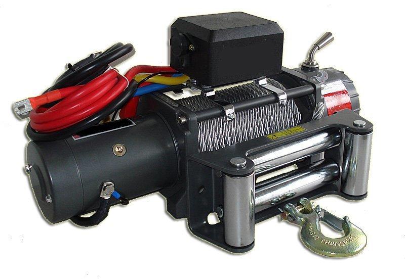 Лебёдка электрическая высокоскоростная 12V Runva 9500 lbs 4309кг 01778