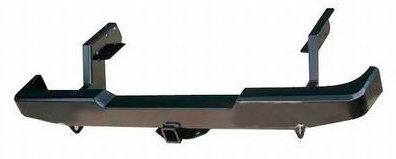 Бампер задний силовой с квадратом РИФ Mazda B2500/BT50/Ford Ranger