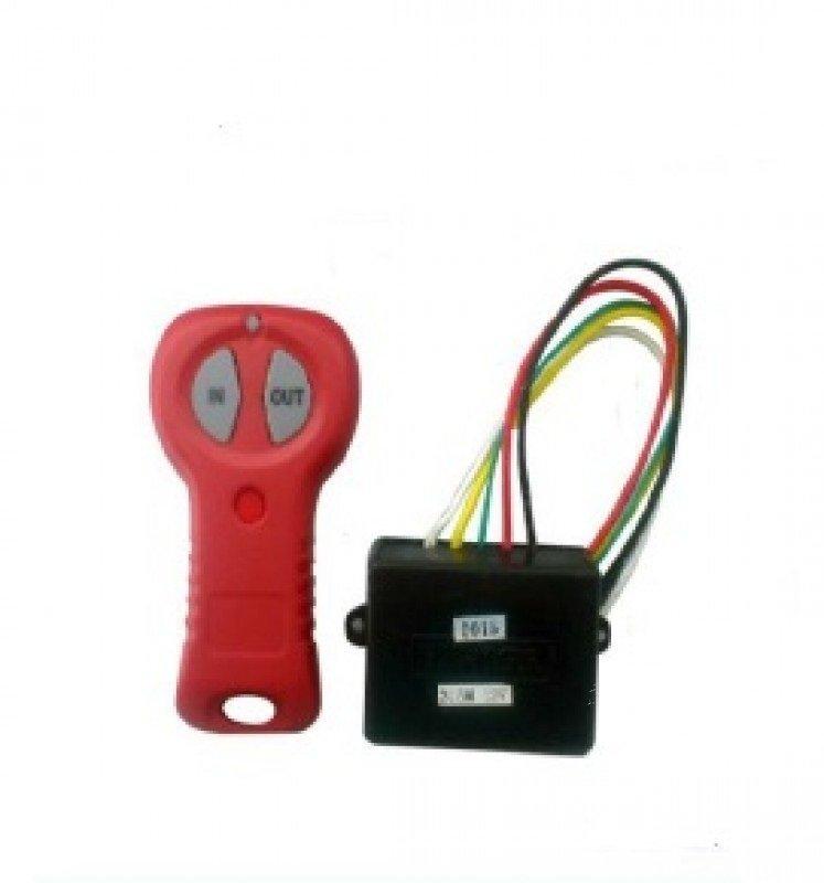 Пульт для лебедки беспроводной, ORT радиус действия до 30м, 5A, режим работы однакональный, 12 Вольт
