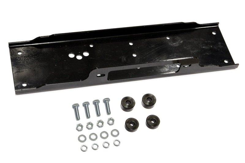 Набор элементов и крепежа для скрытой установки лебедок СТОКРАТ в штатный бампер автомобиля УАЗ Патриот