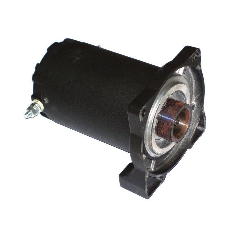 Запасной электромотор Стократ в сборе с боковиной для лебедки Стократ QX 4.5 и SN 4.5 12V (с серийными номерами ST15XXXX и далее)