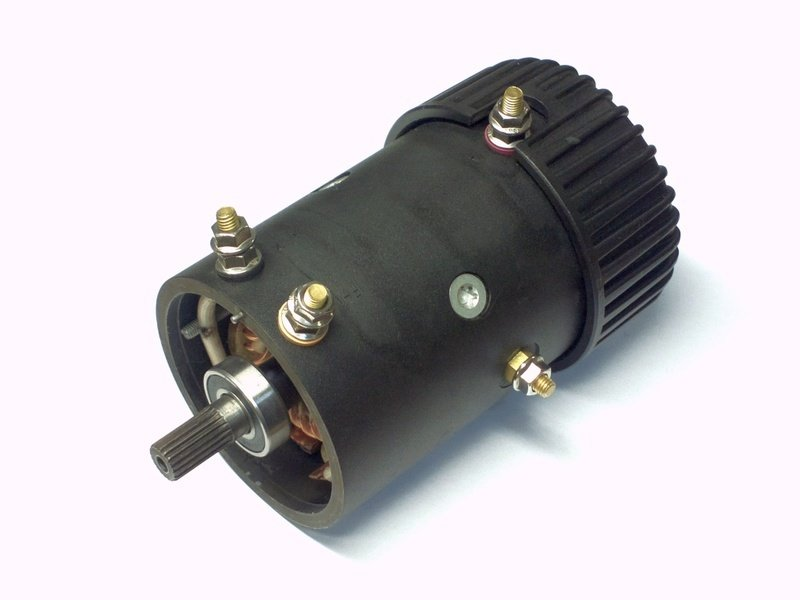 Запасной электромотор 6.8 л.с. для лебедки  СТОКРАТ HD 15.5 и 18.5 WP (12 В)  без боковины