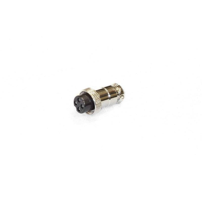 Разъем типа папа для пульта управления всех лебедок СТОКРАТ 12 и 24 вольта.