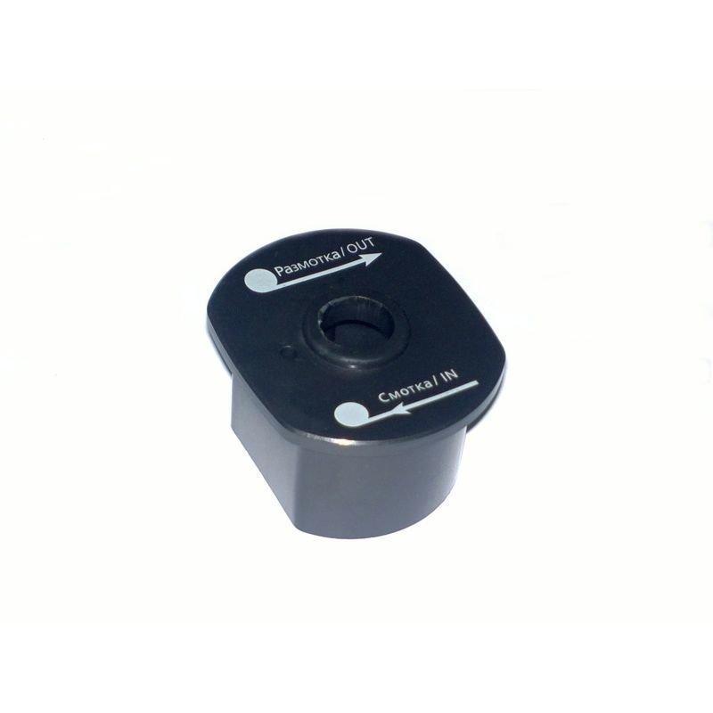 Запасная пластиковая вставка для монтажа переключателя пультов управления для всех лебедок СТОКРАТ 12 и 24 вольта.
