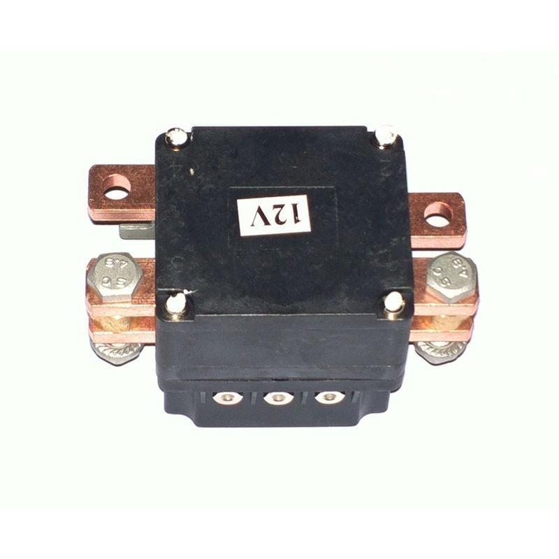 Соленоид (контактор) нового образца для автомобильных лебедок СТОКРАТ 24V 500A