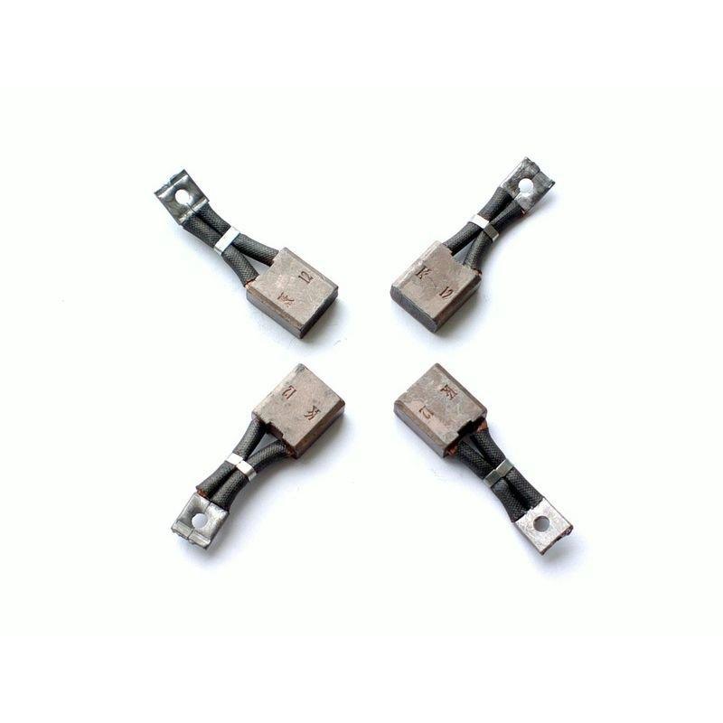 Комплект из 4 щеток для электромоторов лебедок СТОКРАТ (STOKRAT) серии SD