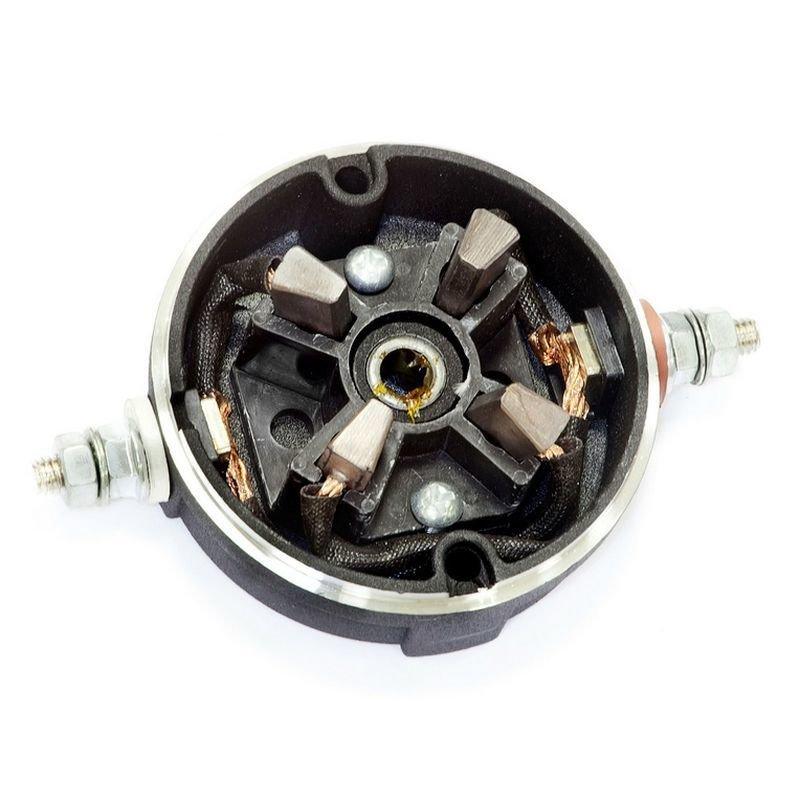 Щеточный узел в сборе для электромоторов лебедок СТОКРАТ серии QX 3.0 и QX 4.0 (ATV)